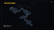 Creepy Crypt Unlock Location on Creeper Woods Map
