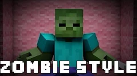 Zombie Style (Minecraft Gangnam Style Parody)