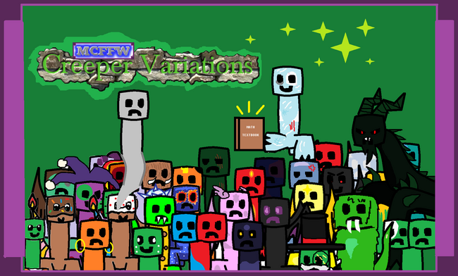 Creeper Variations Banner
