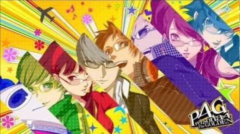 Persona 4 Golden OST- Shin Mitsuo Tensei Revelations Mitsuo