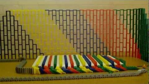 Will You Reach The Finish? 39000 Dominoes