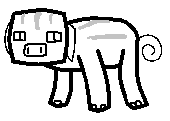 Pig Template | Pig Template Minecraft Fanfictions Wiki Fandom Powered By Wikia