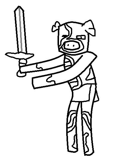 Zombie Pigman Template Minecraft Fanfictions Wiki