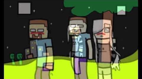 Minecraft Herobrine's Love Story