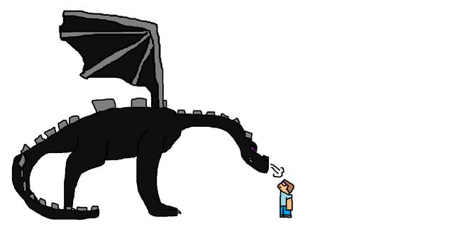 File:Ender dragon and steve.png