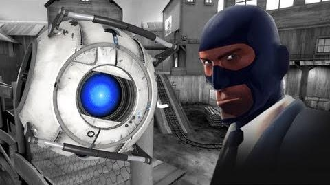TF2 Wheatley Sapper Live Commentary Ap-Sap Spy