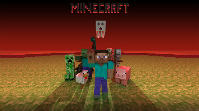 FileAwesome Minecraft Wallpapers In HD 1dut