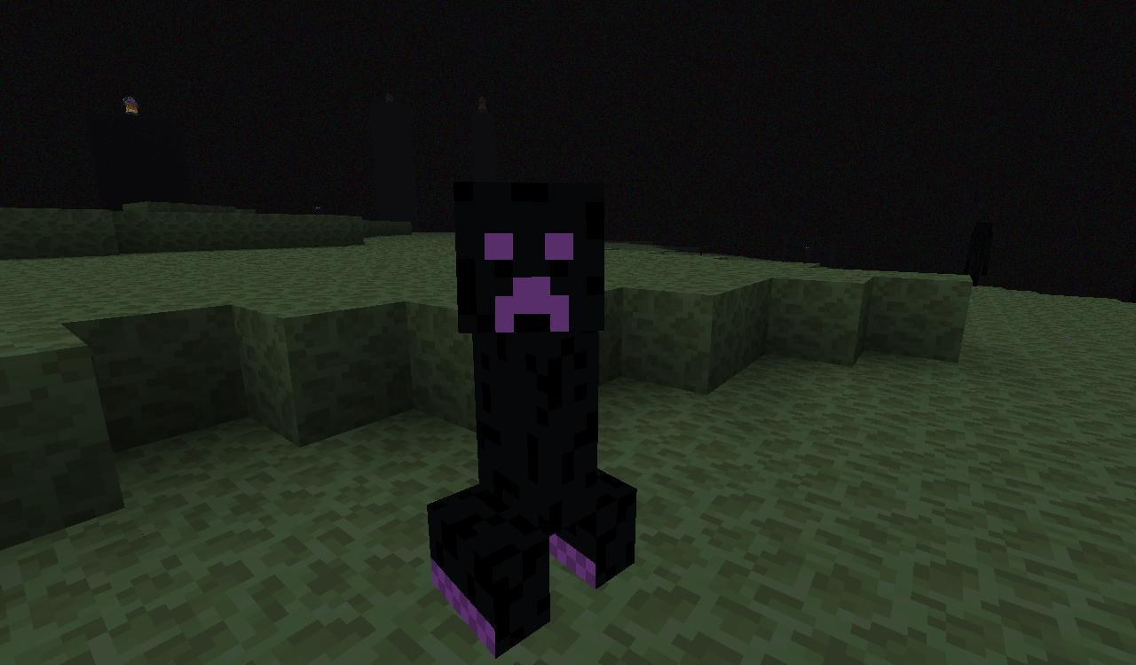Ender creeper minecraft fanon wiki fandom powered by wikia ender creeper voltagebd Image collections