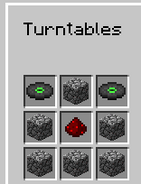Turntables recipe