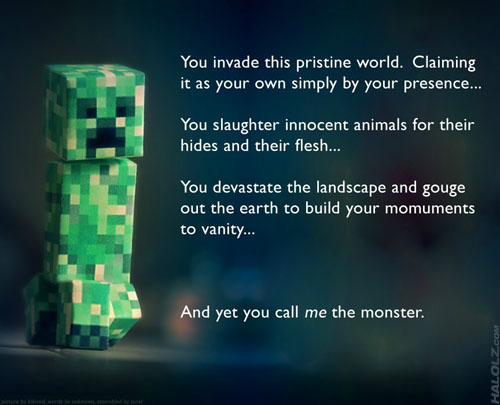 Creeper Realization