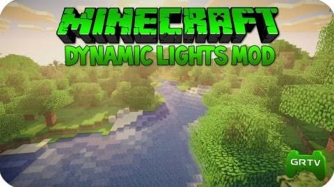 Minecraft Dynamic Lights MOD 1.7.10 HD Deutsch + Installation