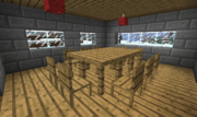 Official Vanilla Minecraft Table and Chairs