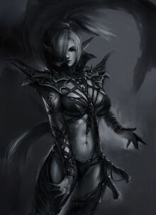 Dark Mage of the Angels of Death