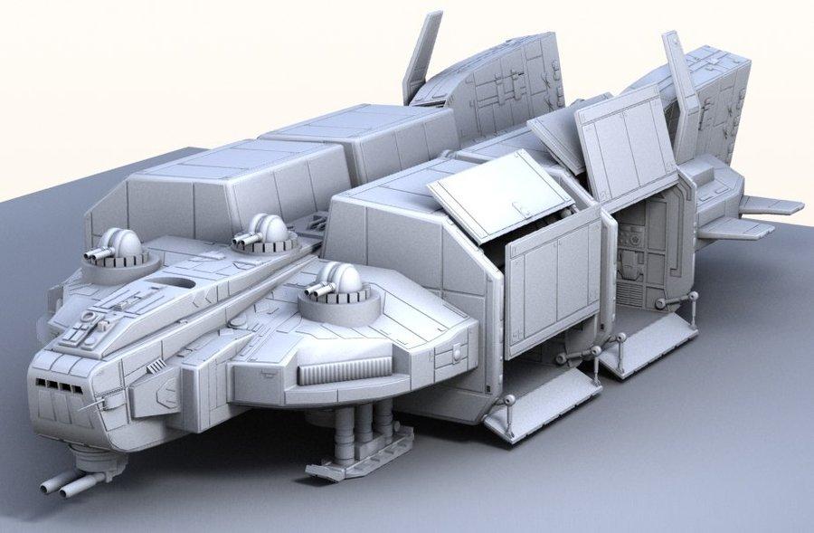 Image result for futuristic flying troop transport