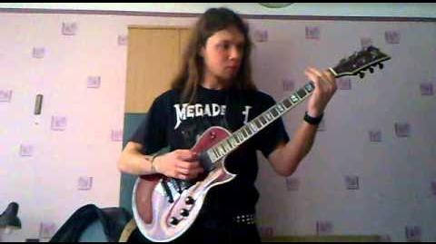 Metallica - Blackened guitar cover