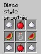 Disco style smoothie recipe