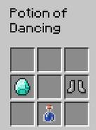 Potion of Dancing recipe