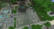 Golden labyrinth