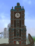 Clocktower bricks