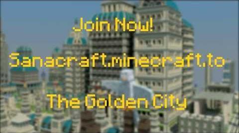 Sanacraft - The golden city
