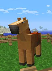 My minecraft horse by schlonie-d3cf380