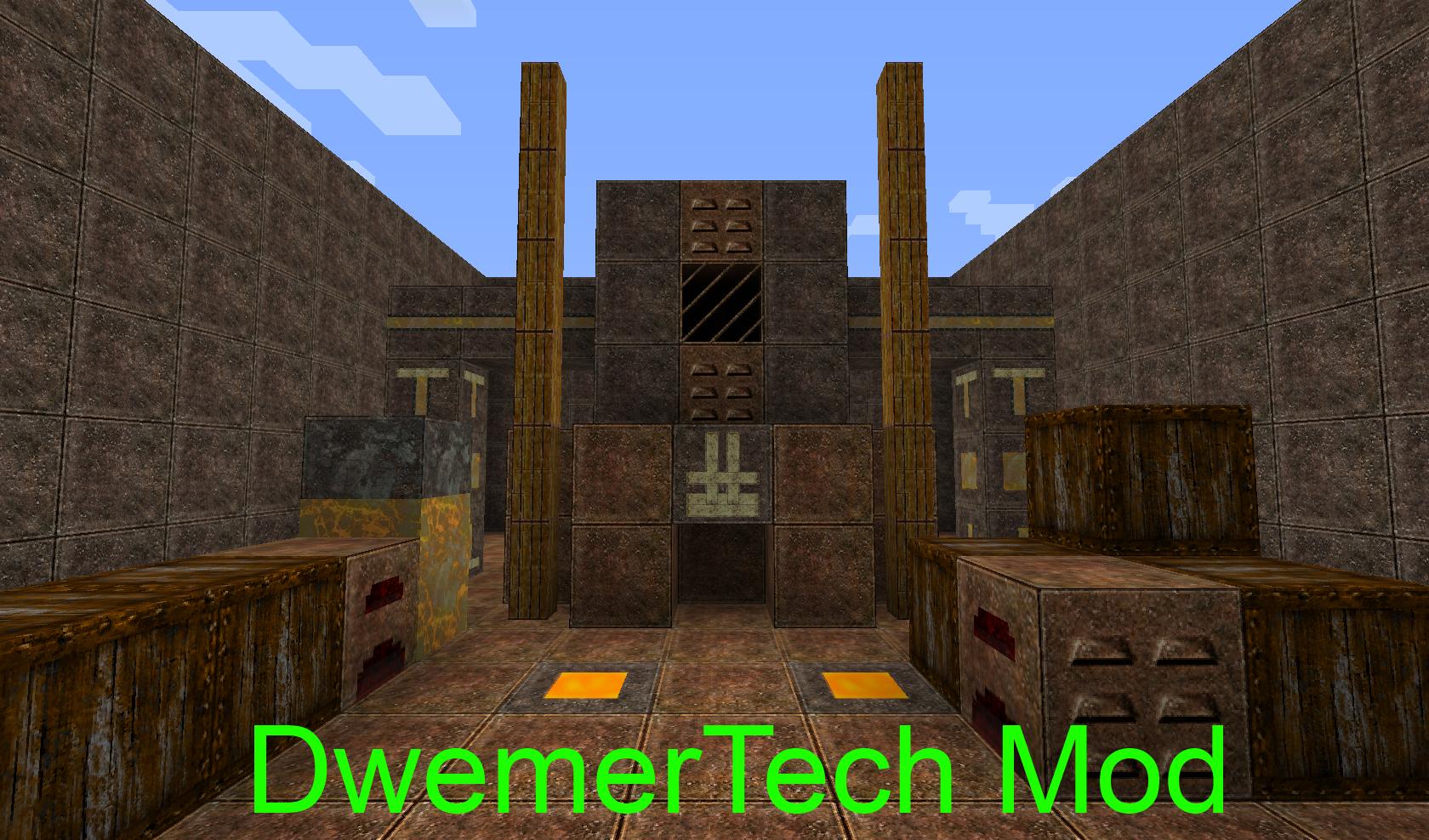 Dwemertech Mod Multiblocks Pipes Minecraftmodcustomstuff Wiki
