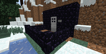 Obsidian walls