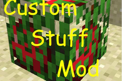Minecraftmodcustomstuff Wiki