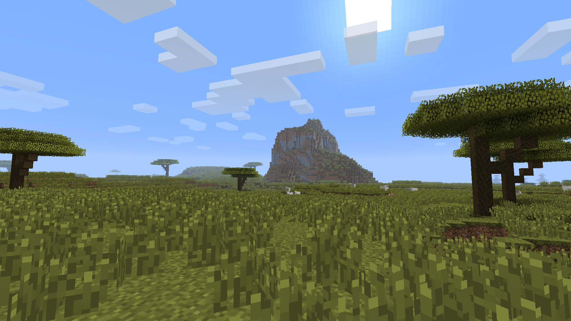how to change a biome in minecraft