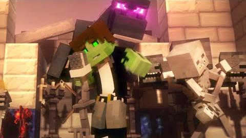 "♫ ""Villagers"" - A Minecraft Parody Song of ""Sugar"" By Maroon 5 (Music Video) Animation"