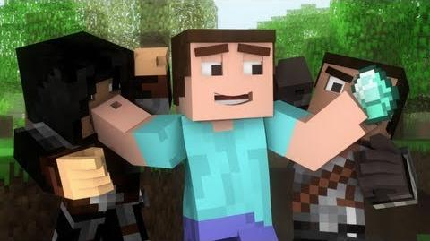 "♫ ""Where My Diamonds Hide"" - A Minecraft Parody Song of Imagine Dragon's Demons (Music Video)-0"