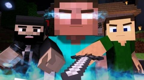 "♪ ""The Miner"" - A Minecraft Parody of The Fighter by Gym Class Heroes (Music Video)-0"