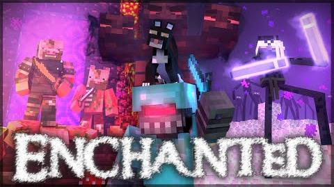 """Enchanted"" - A Minecraft Music Video (Parody)"