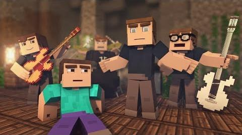 """♫ """"Mining Ores"""" - The Minecraft Song Parody of OneRepublic's Counting Stars (Music Video)"""