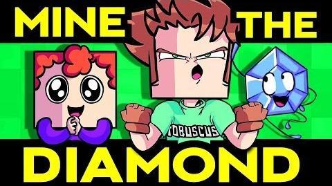MINE THE DIAMOND (Minecraft Song) Toby Turner ft