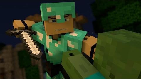 """♪ """"Warfare"""" - A Minecraft Parody of Pompeii By Bastille (Music Video)"""