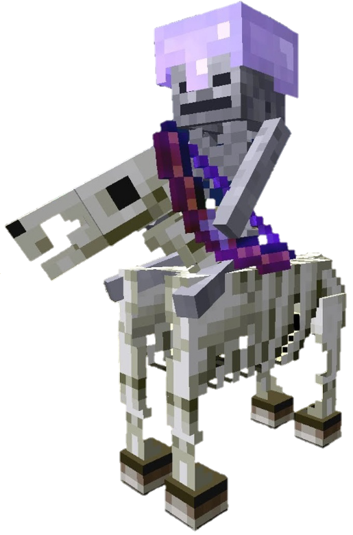 Jinete esqueleto | Minecraftpedia | Fandom