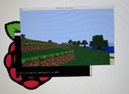 Minecraft Pi Screenshot