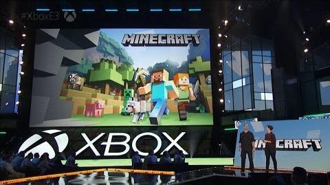 CuBaN VeRcEttI/Minecraft en la conferencia de Xbox de la E3 2016
