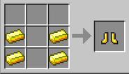 Creacion botas de oro