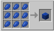Crafteo Bloque de lapislázuli