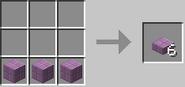 Creación de losas púrpuras