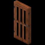 Puerta de acacia