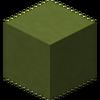Arcilla tintada de verde lima