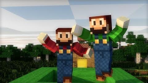 Minecraft Animation ¿Qué pasaría si Mario jugase a Minecraft?