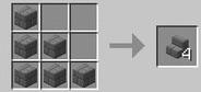 Crafteo escaleras de ladrillo de piedra