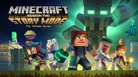 Minecraft Story Mode - Temporada Dos Tráiler