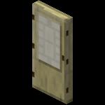 Puerta de abedul