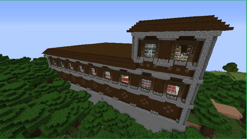 Imagen Woodland Mansion Ingame Png Minecraftpedia