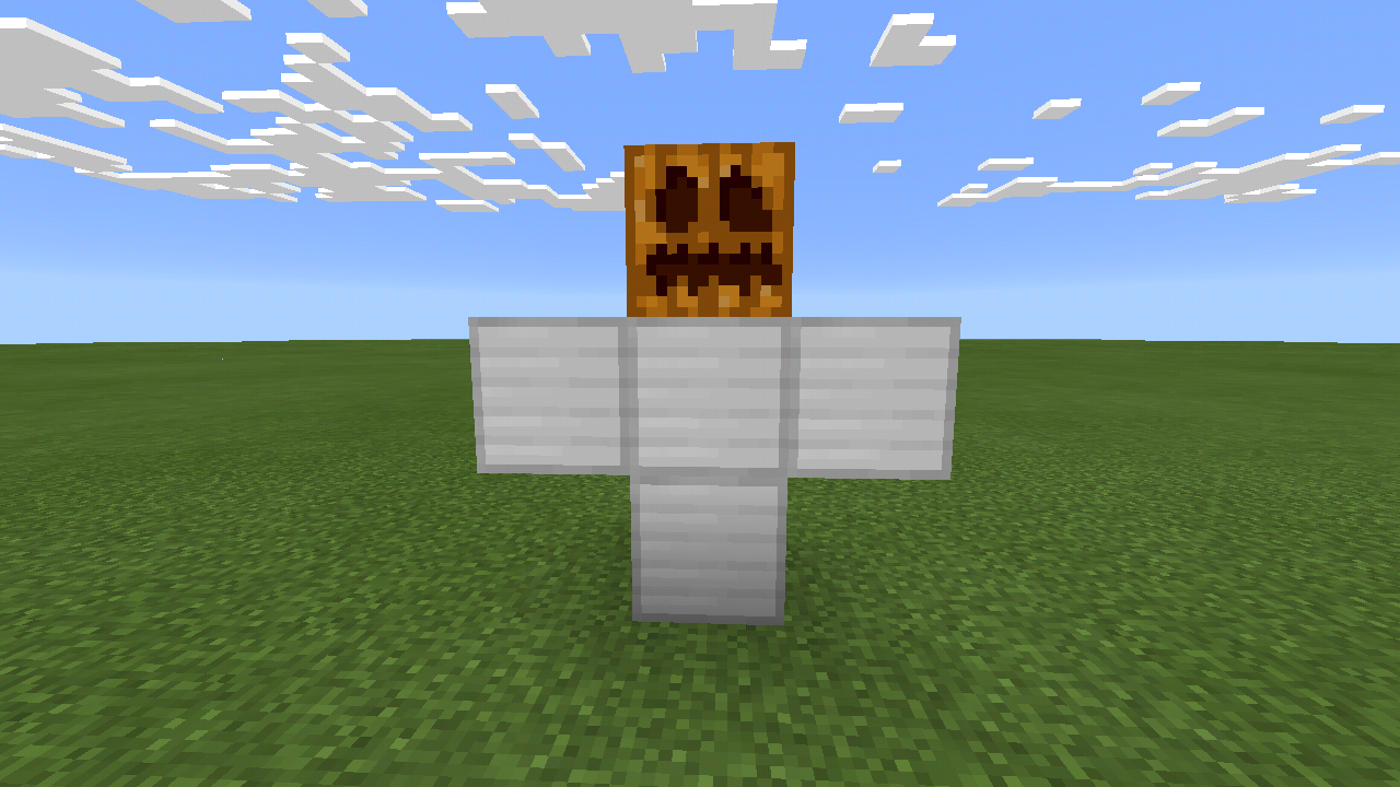 how to build a iron golem in minecraft xbox 360